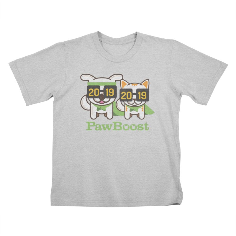 Hello 2019! Kids T-Shirt by PawBoost's Shop