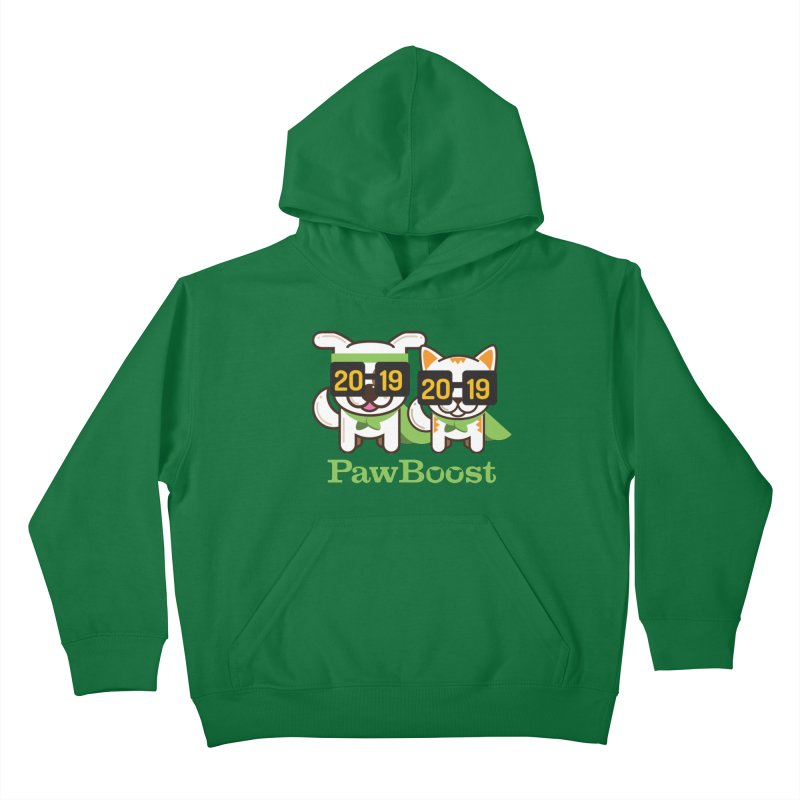 Hello 2019! Kids Pullover Hoody by PawBoost's Shop