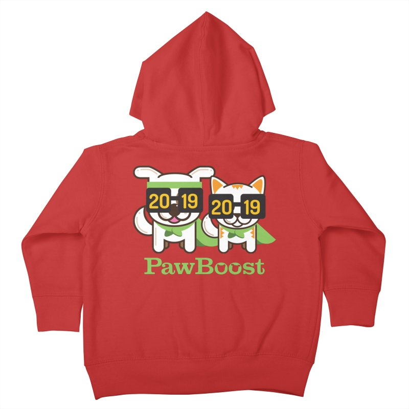 Hello 2019! Kids Toddler Zip-Up Hoody by PawBoost's Shop