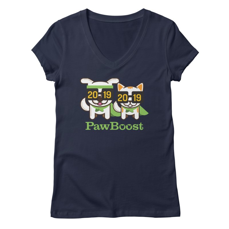 Hello 2019! Women's Regular V-Neck by PawBoost's Shop