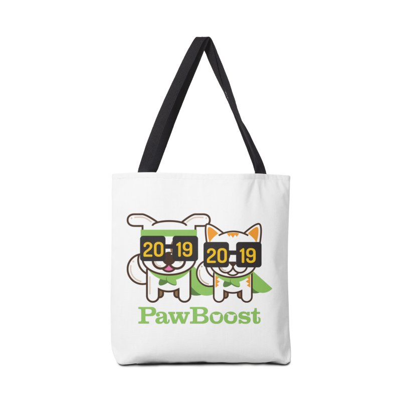 Hello 2019! Accessories Tote Bag Bag by PawBoost's Shop
