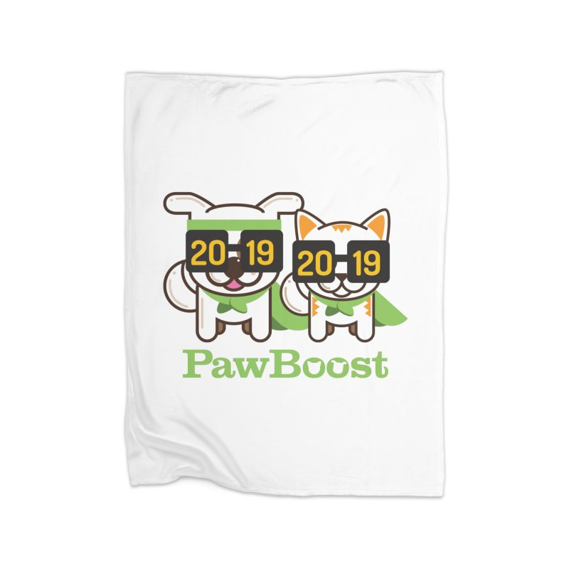 Hello 2019! Home Fleece Blanket Blanket by PawBoost's Shop
