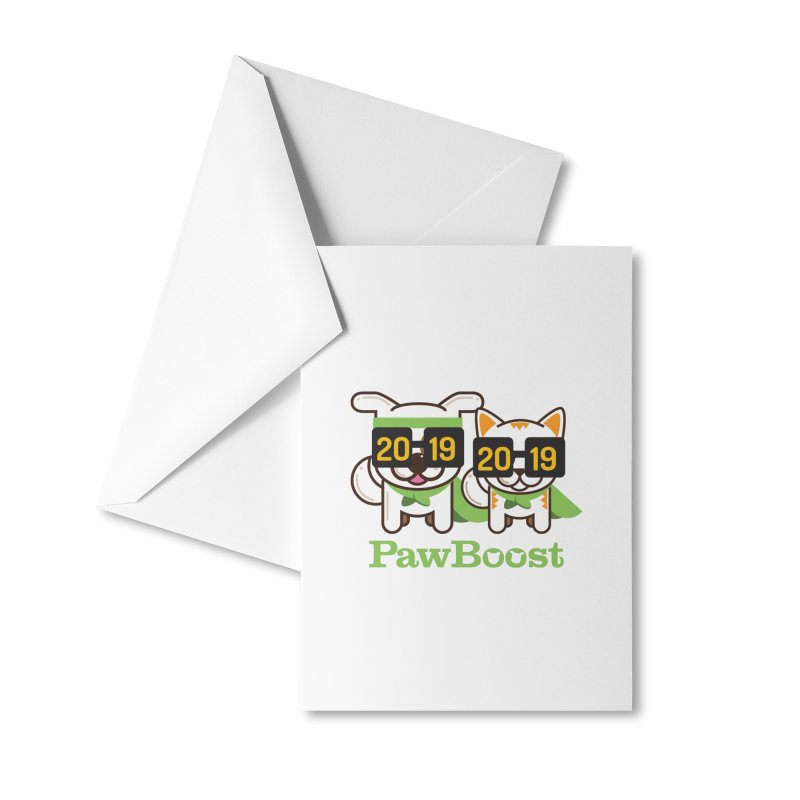 Hello 2019! Accessories Greeting Card by PawBoost's Shop