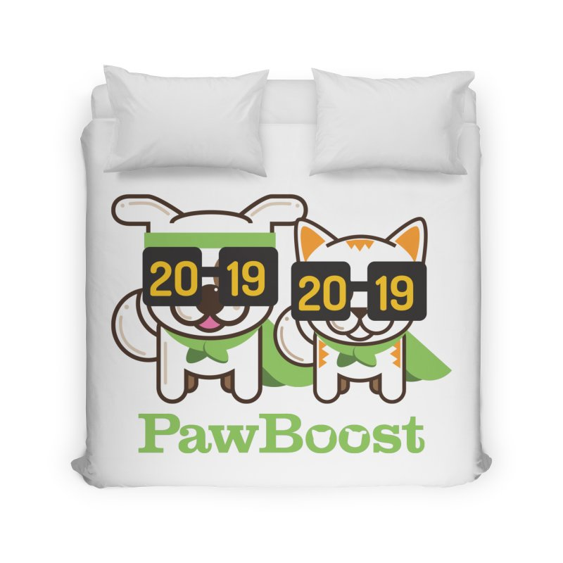 Hello 2019! Home Duvet by PawBoost's Shop
