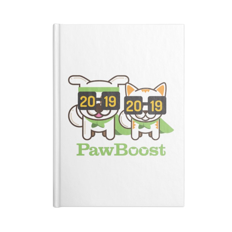 Hello 2019! Accessories Blank Journal Notebook by PawBoost's Shop