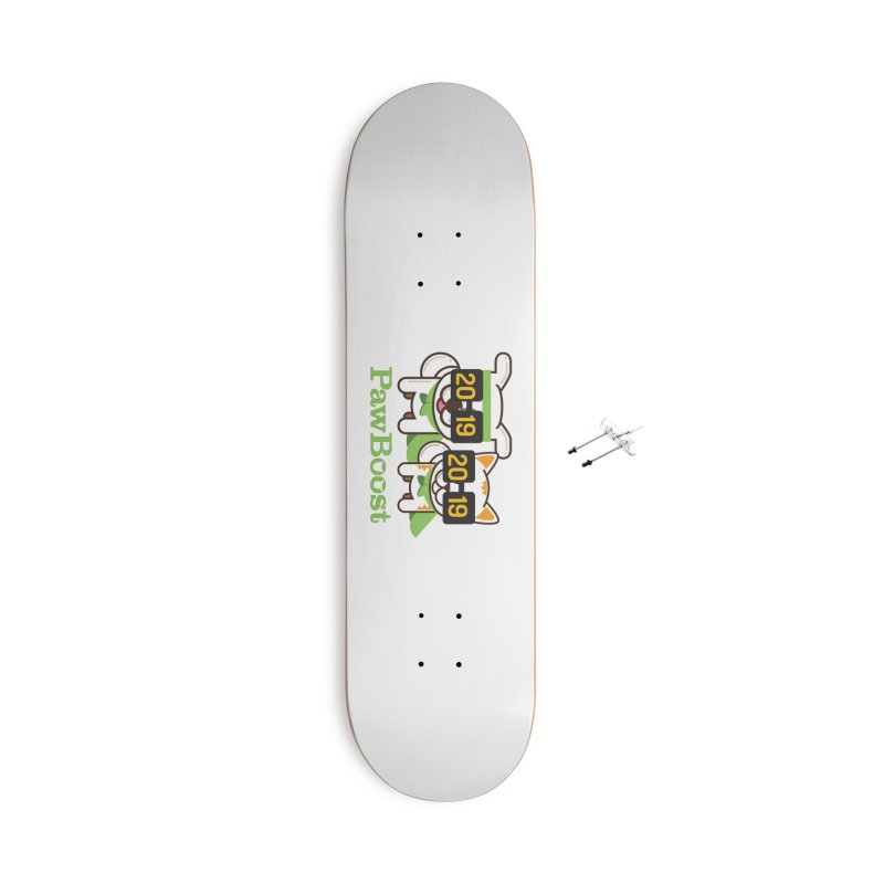 Hello 2019! Accessories With Hanging Hardware Skateboard by PawBoost's Shop