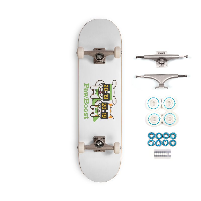 Hello 2019! Accessories Complete - Basic Skateboard by PawBoost's Shop