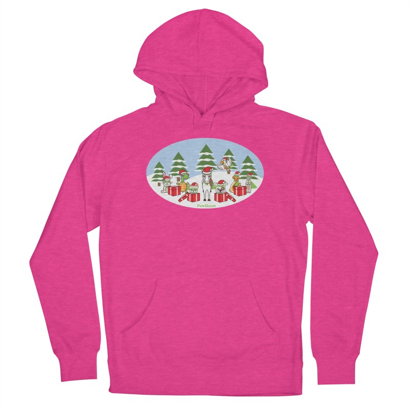 Rescue Squad Presents (winter wonderland) Women's French Terry Pullover Hoody by PawBoost's Shop