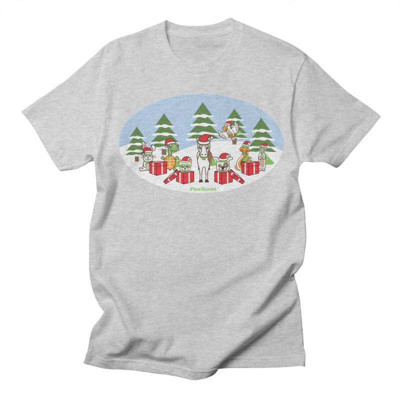 Rescue Squad Presents (winter wonderland) Women's Regular Unisex T-Shirt by PawBoost's Shop