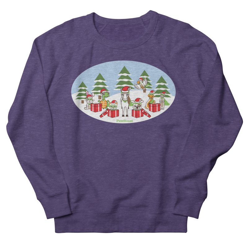Rescue Squad Presents (winter wonderland) Men's French Terry Sweatshirt by PawBoost's Shop