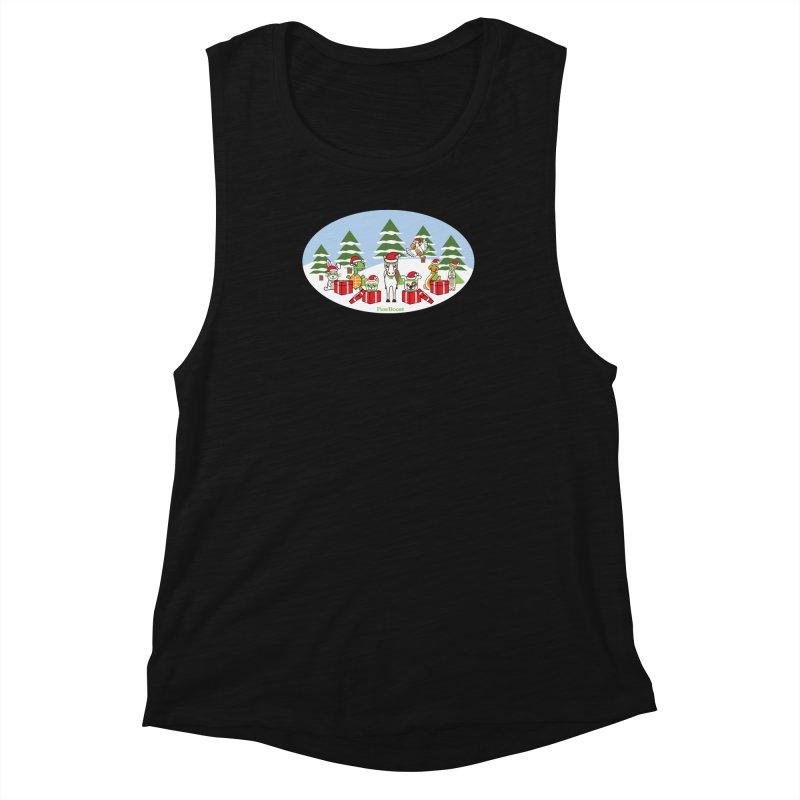 Rescue Squad Presents (winter wonderland) Women's Tank by PawBoost's Shop