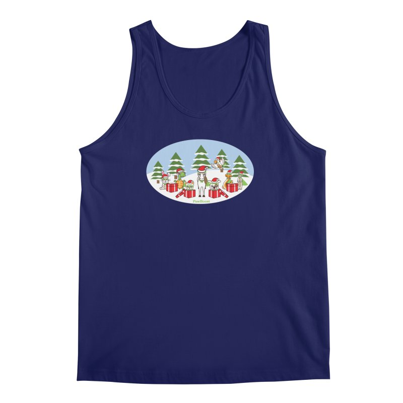 Rescue Squad Presents (winter wonderland) Men's Regular Tank by PawBoost's Shop