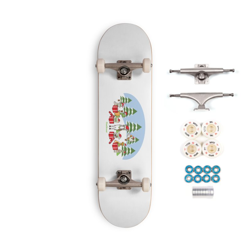 Rescue Squad Presents (winter wonderland) Accessories Complete - Premium Skateboard by PawBoost's Shop