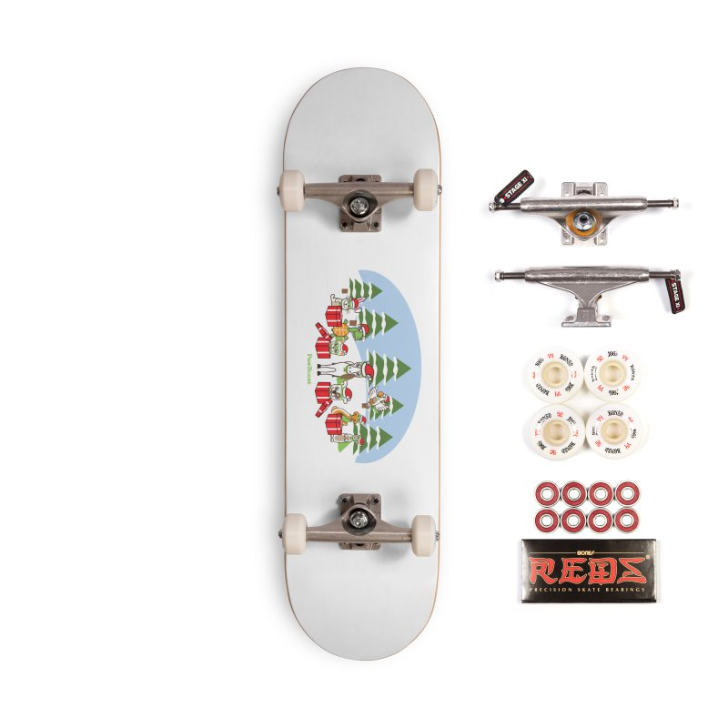 Rescue Squad Presents (winter wonderland) Accessories Complete - Pro Skateboard by PawBoost's Shop