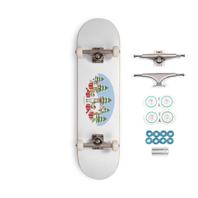 Rescue Squad Presents (winter wonderland) Accessories Complete - Basic Skateboard by PawBoost's Shop