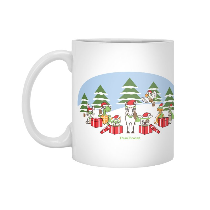 Rescue Squad Presents (winter wonderland) Accessories Standard Mug by PawBoost's Shop