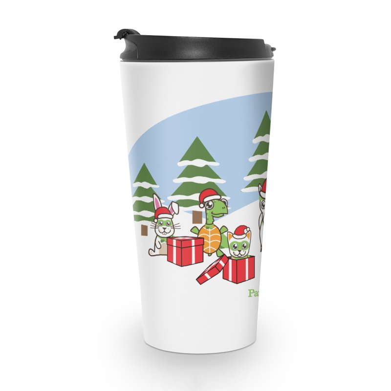 Rescue Squad Presents (winter wonderland) Accessories Travel Mug by PawBoost's Shop