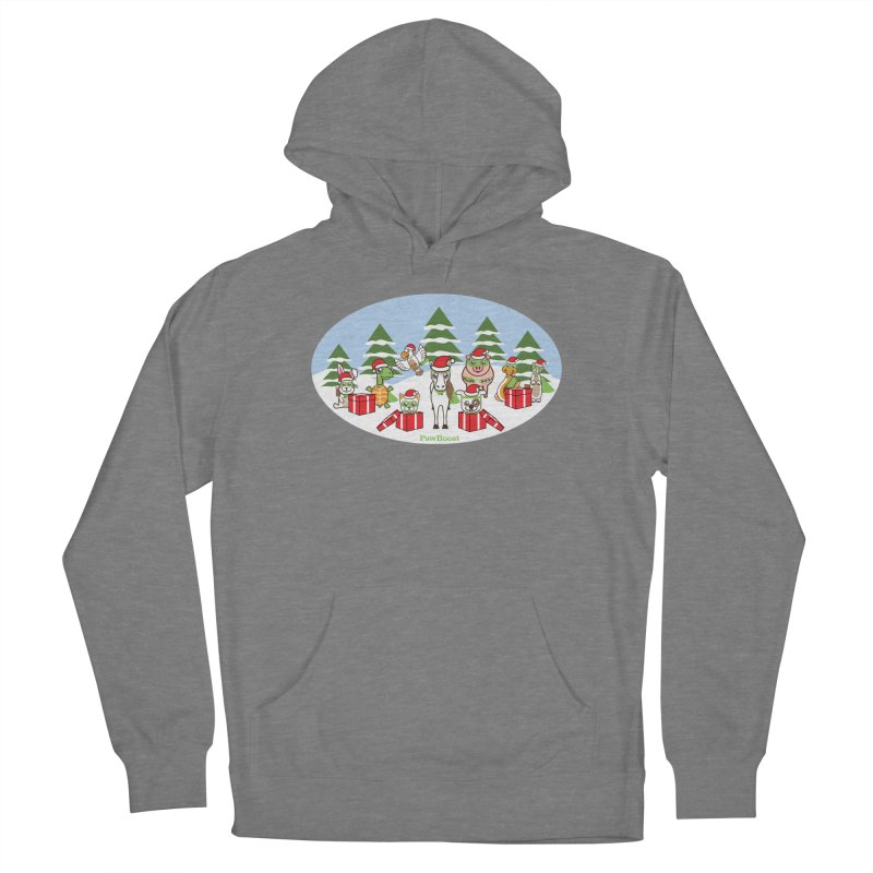 Rescue Squad Presents (winter wonderland) Women's Pullover Hoody by PawBoost's Shop