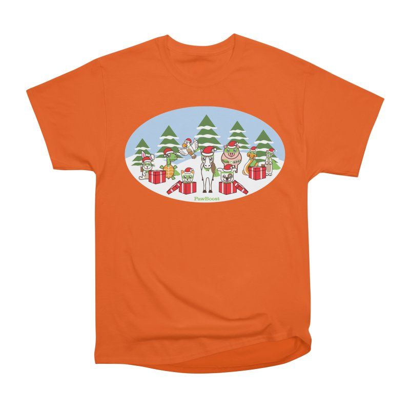 Rescue Squad Presents (winter wonderland) Women's T-Shirt by PawBoost's Shop