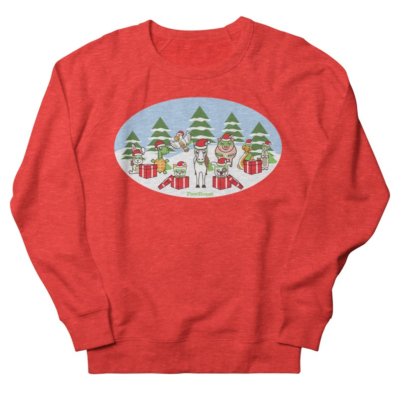 Rescue Squad Presents (winter wonderland) Women's Sweatshirt by PawBoost's Shop