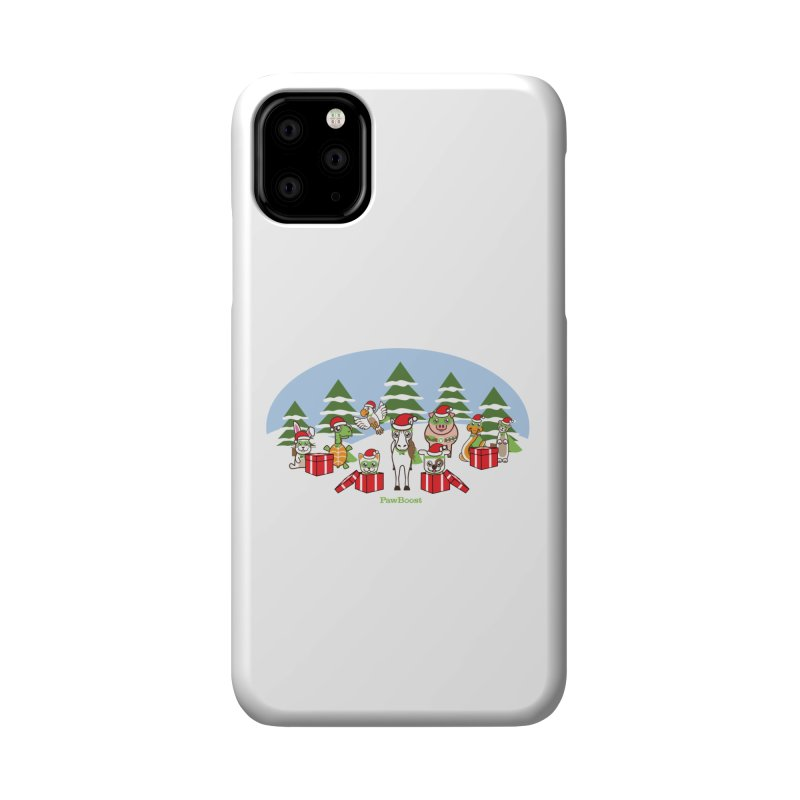 Rescue Squad Presents (winter wonderland) Accessories Phone Case by PawBoost's Shop