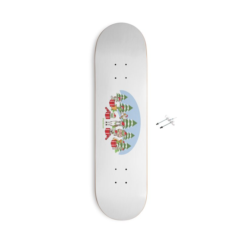 Rescue Squad Presents (winter wonderland) Accessories Skateboard by PawBoost's Shop