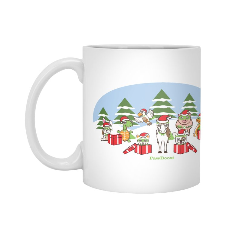Rescue Squad Presents (winter wonderland) Accessories Mug by PawBoost's Shop