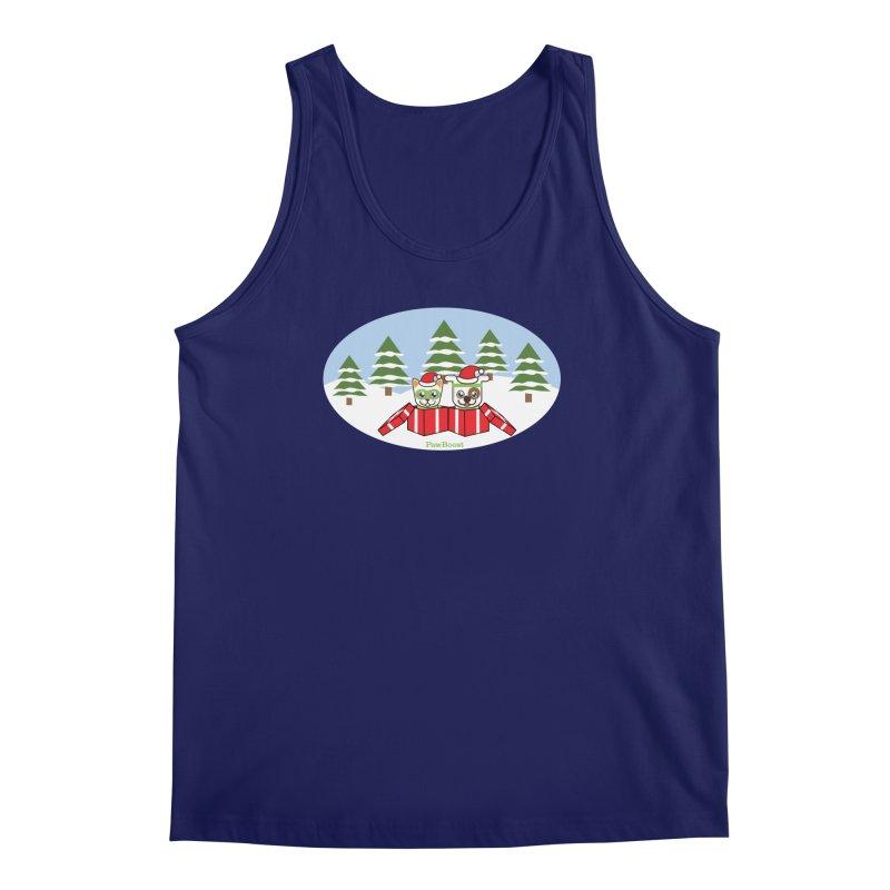 Toby & Moby Presents (winter wonderland) Men's Regular Tank by PawBoost's Shop