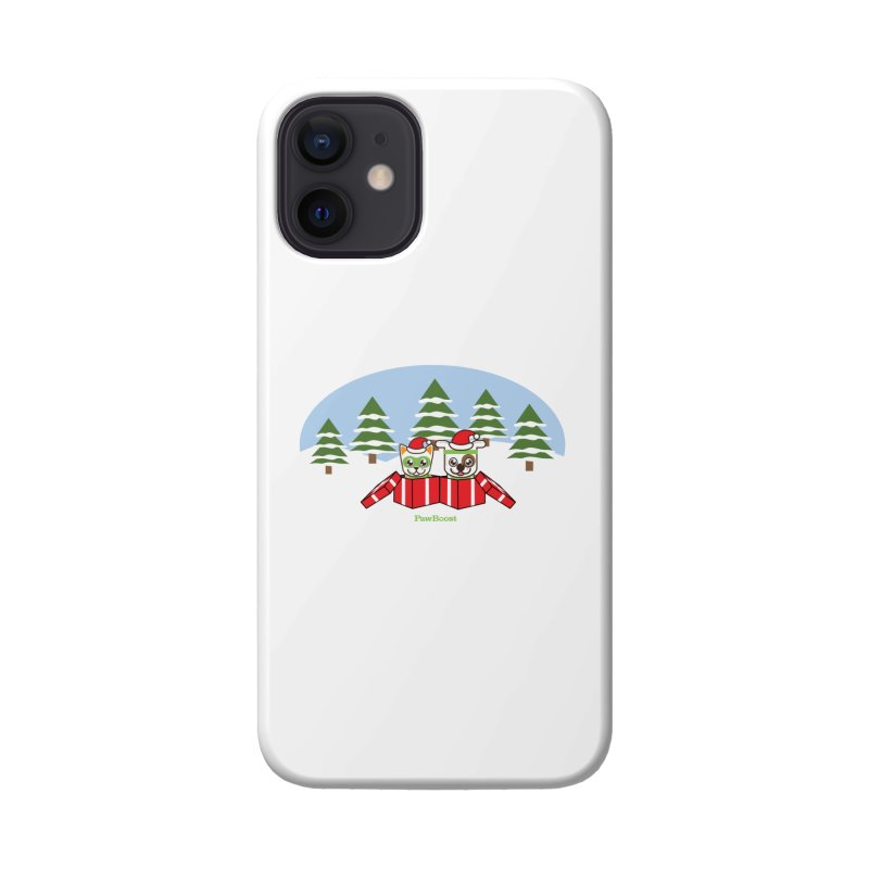 Toby & Moby Presents (winter wonderland) Accessories Phone Case by PawBoost's Shop