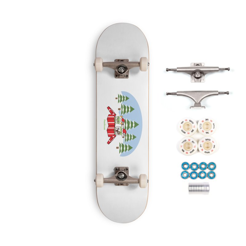 Toby & Moby Presents (winter wonderland) Accessories Complete - Premium Skateboard by PawBoost's Shop