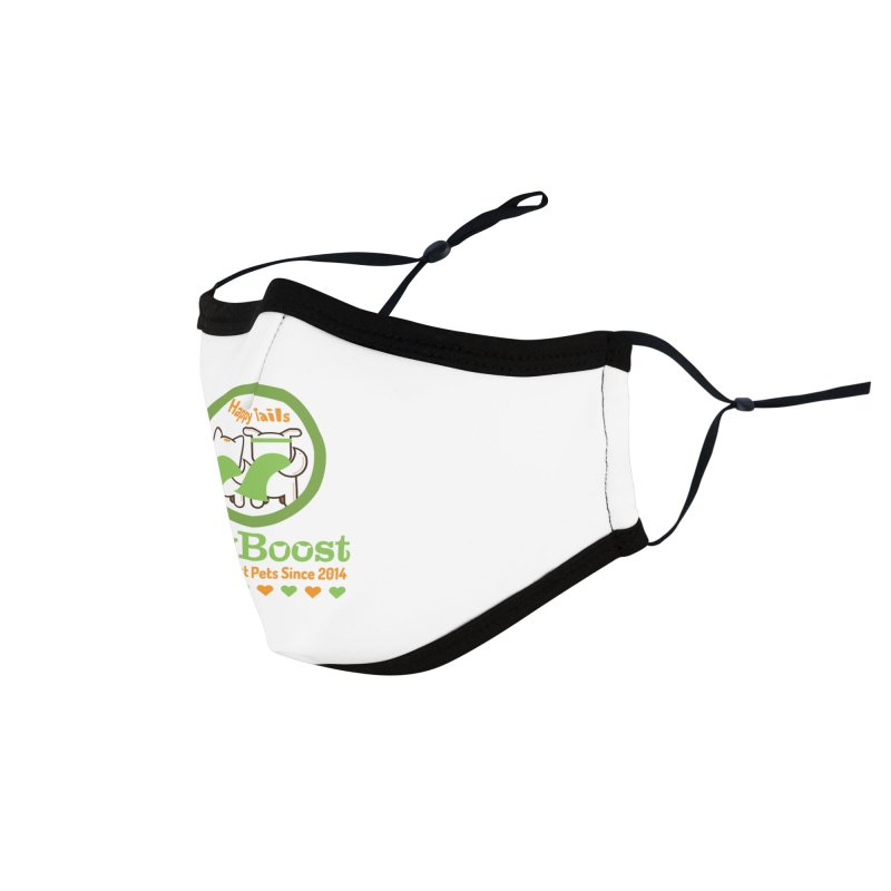 Happy Tails Accessories Face Mask by PawBoost's Shop