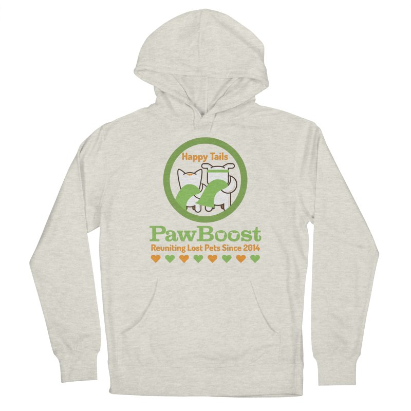 Happy Tails Women's French Terry Pullover Hoody by PawBoost's Shop