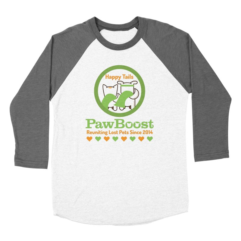 Happy Tails Women's Longsleeve T-Shirt by PawBoost's Shop