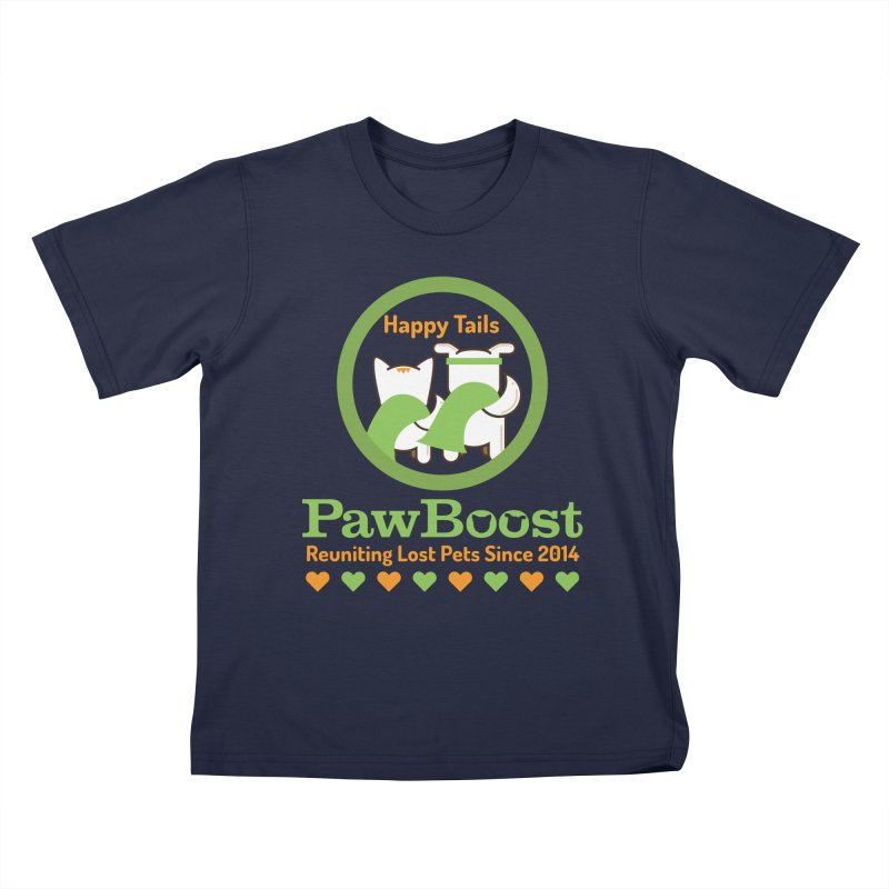 Happy Tails Kids T-Shirt by PawBoost's Shop