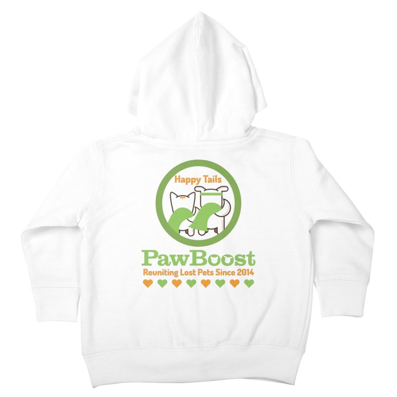 Happy Tails Kids Toddler Zip-Up Hoody by PawBoost's Shop