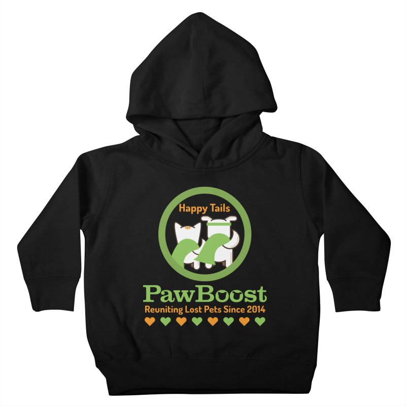 Happy Tails Kids Toddler Pullover Hoody by PawBoost's Shop