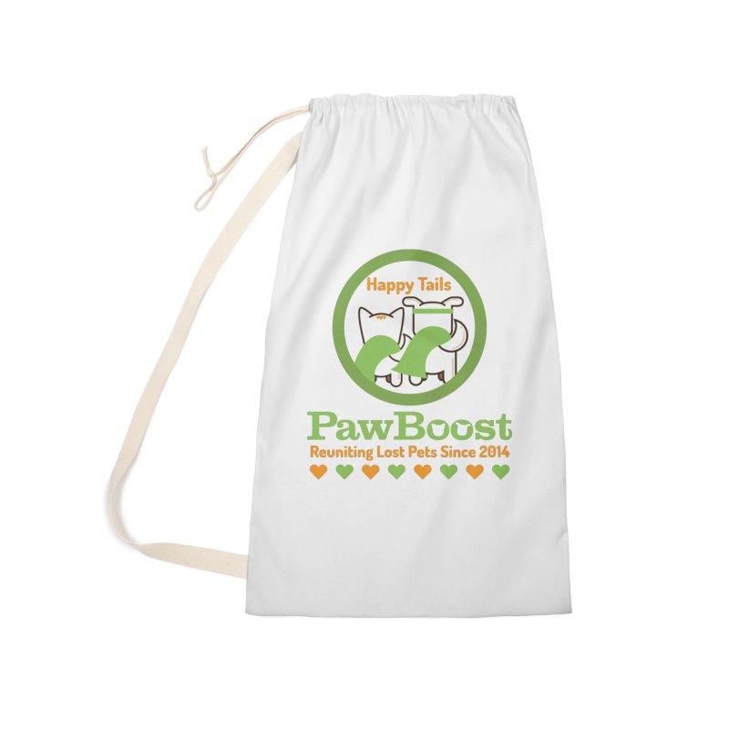 Happy Tails Accessories Laundry Bag Bag by PawBoost's Shop