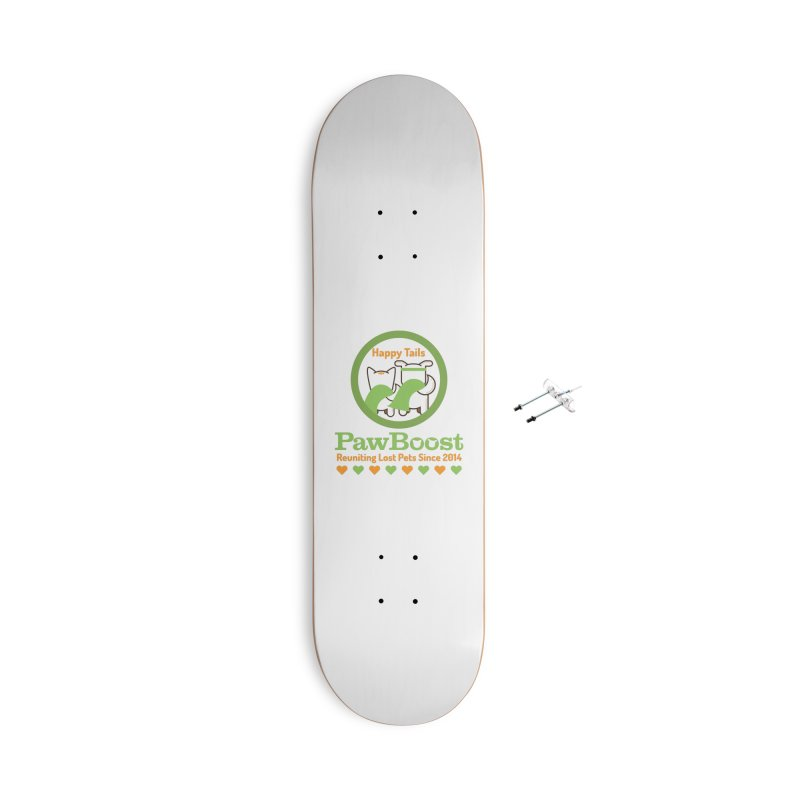 Happy Tails Accessories With Hanging Hardware Skateboard by PawBoost's Shop