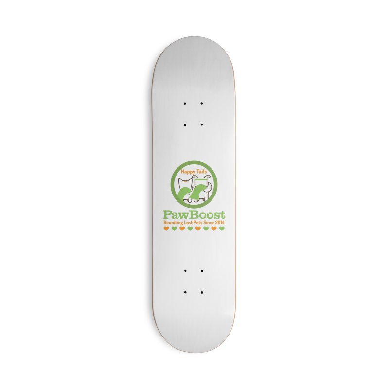 Happy Tails Accessories Deck Only Skateboard by PawBoost's Shop