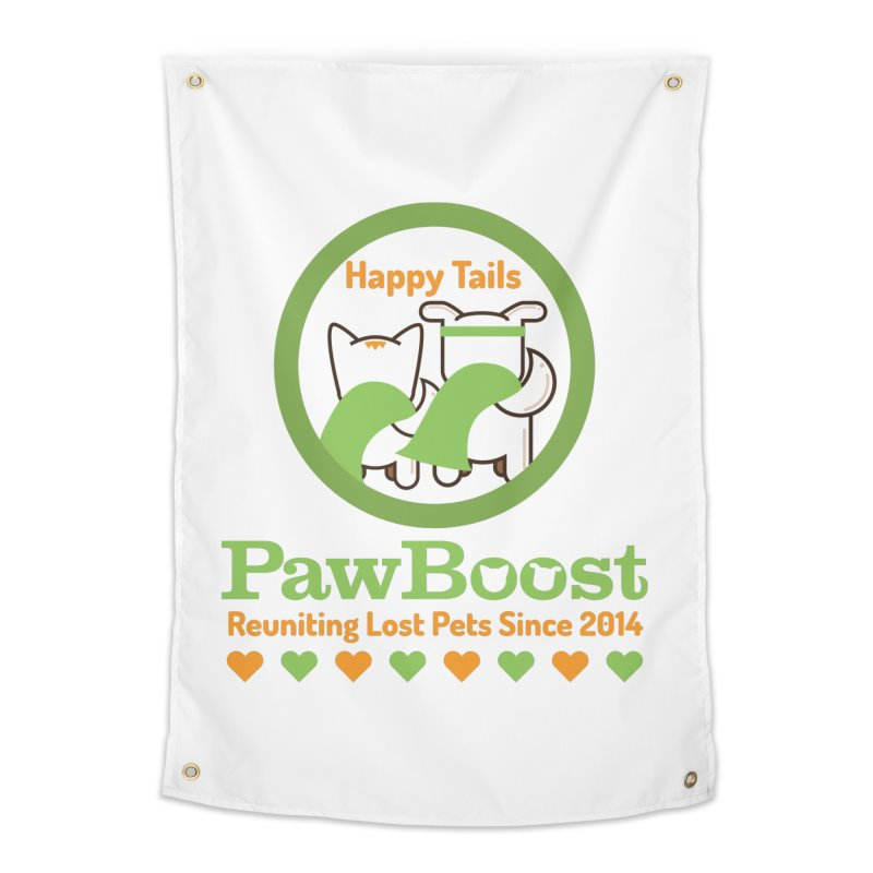 Happy Tails Home Tapestry by PawBoost's Shop