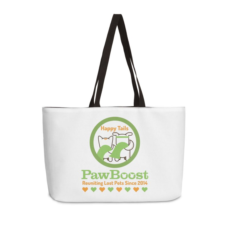 Happy Tails Accessories Weekender Bag Bag by PawBoost's Shop