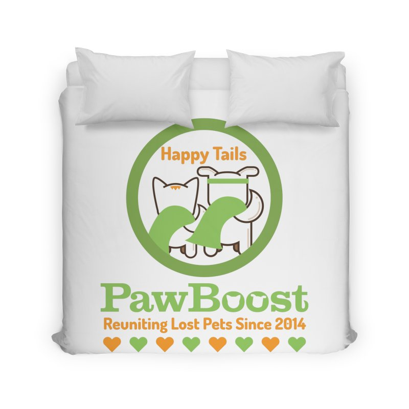 Happy Tails Home Duvet by PawBoost's Shop