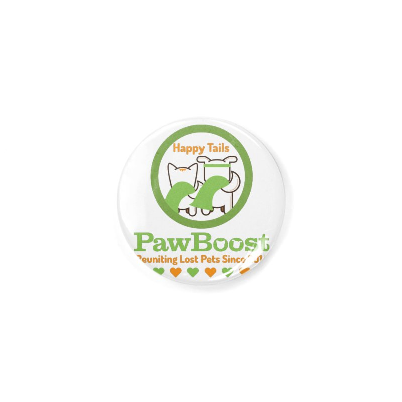 Happy Tails Accessories Button by PawBoost's Shop