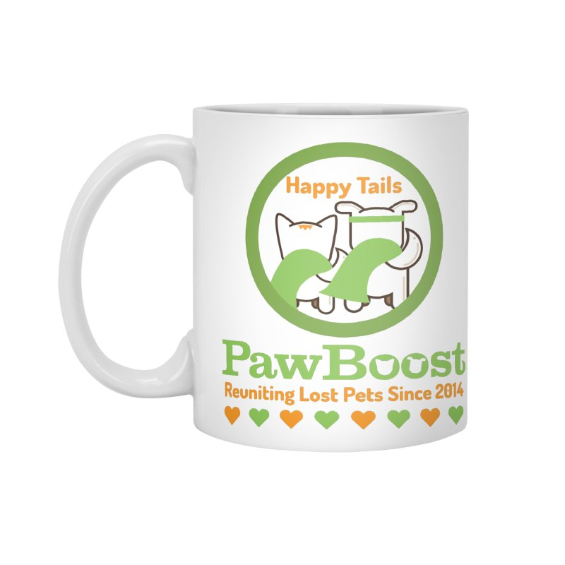 Happy Tails Accessories Standard Mug by PawBoost's Shop