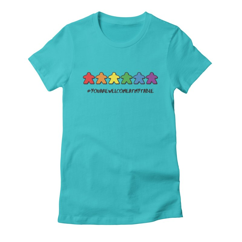 You Are Welcome At My Table (Tim Blank) (Light) Women's Fitted T-Shirt by #youarewelcomeatmytable | A Pawn's Perspective