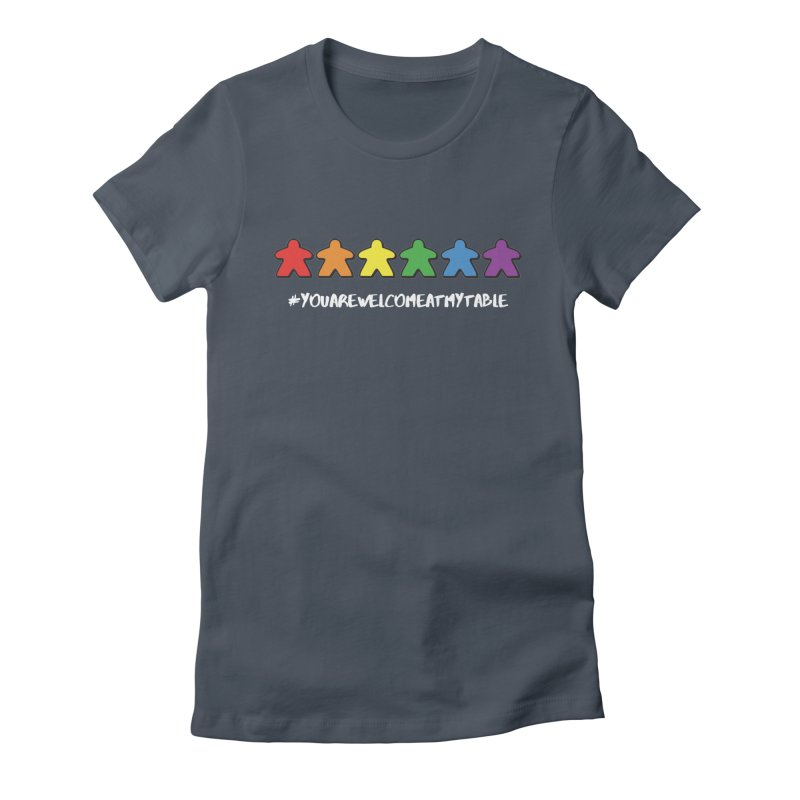 You Are Welcome At My Table (Tim Blank) (Dark) Women's T-Shirt by #youarewelcomeatmytable   A Pawn's Perspective