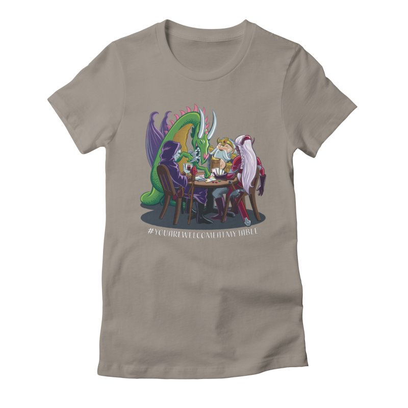 You Are Welcome At My Table (Ben Fascitelli) (Dark) Women's T-Shirt by #youarewelcomeatmytable | A Pawn's Perspective