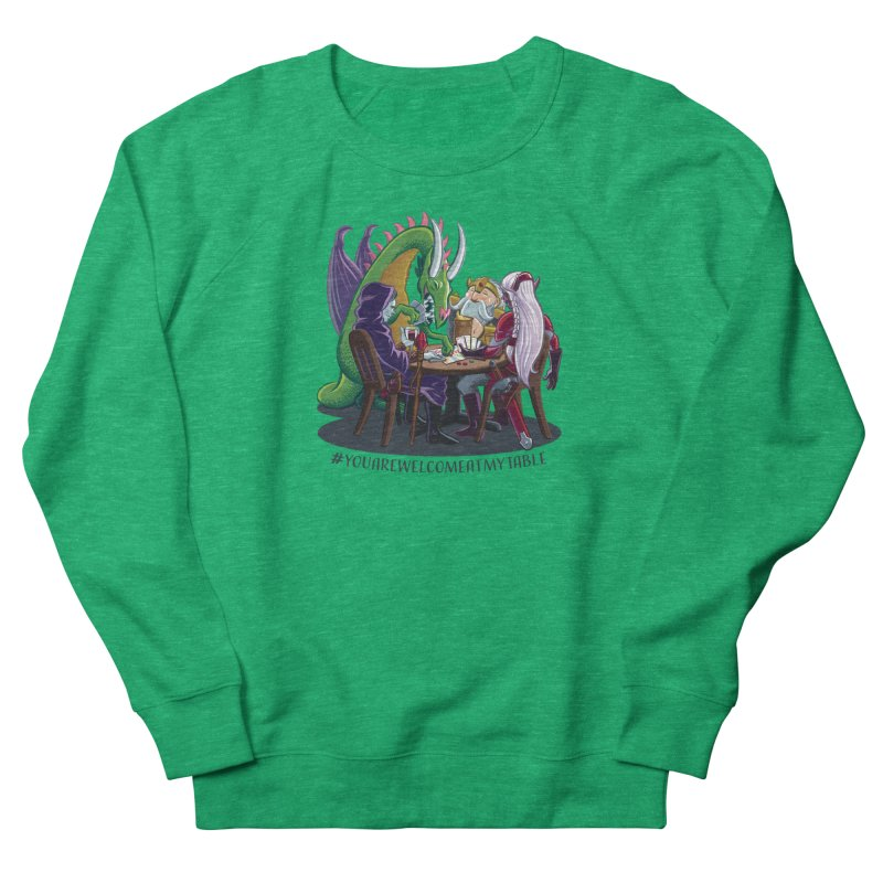 You Are Welcome At My Table (Ben Fascitelli) (Light) Women's Sweatshirt by #youarewelcomeatmytable | A Pawn's Perspective