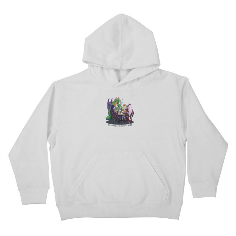 You Are Welcome At My Table (Ben Fascitelli) (Light) Kids Pullover Hoody by #youarewelcomeatmytable   A Pawn's Perspective