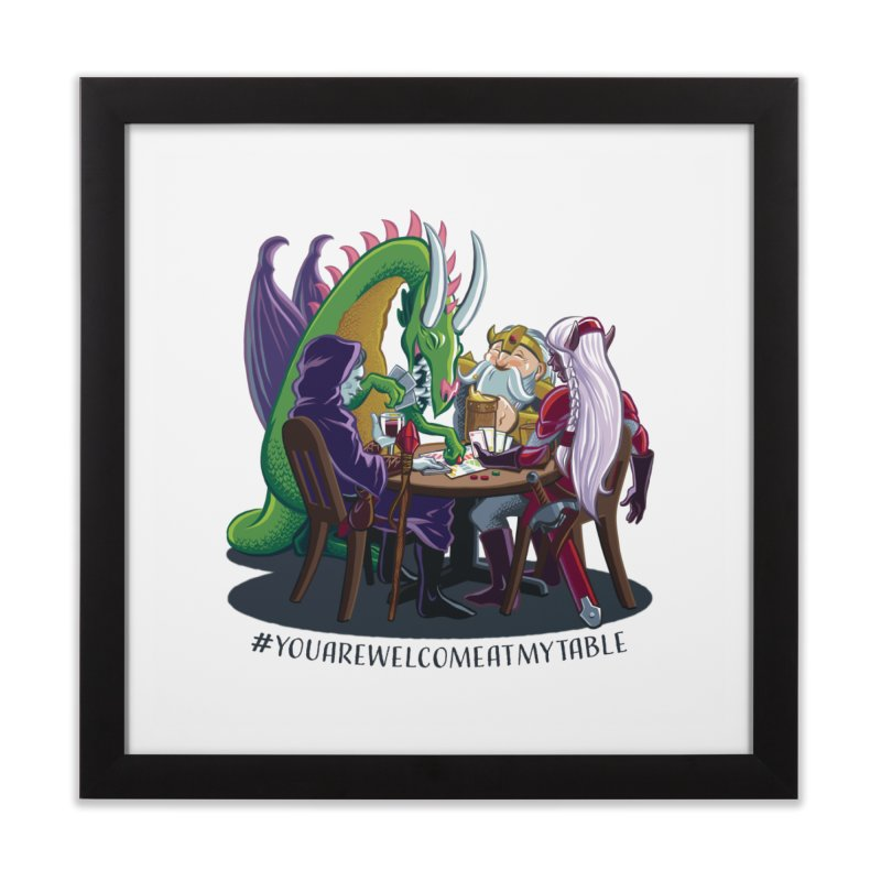 You Are Welcome At My Table (Ben Fascitelli) (Light) Home Framed Fine Art Print by #youarewelcomeatmytable | A Pawn's Perspective